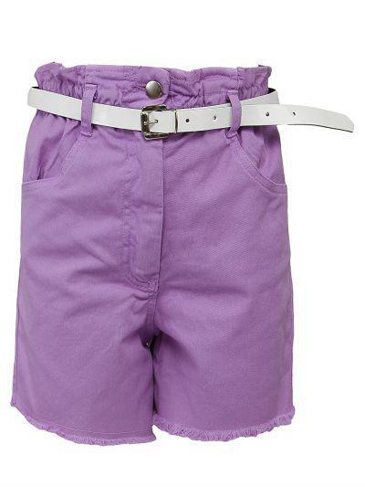 шорты y-clu' для девочки, фиолетовые