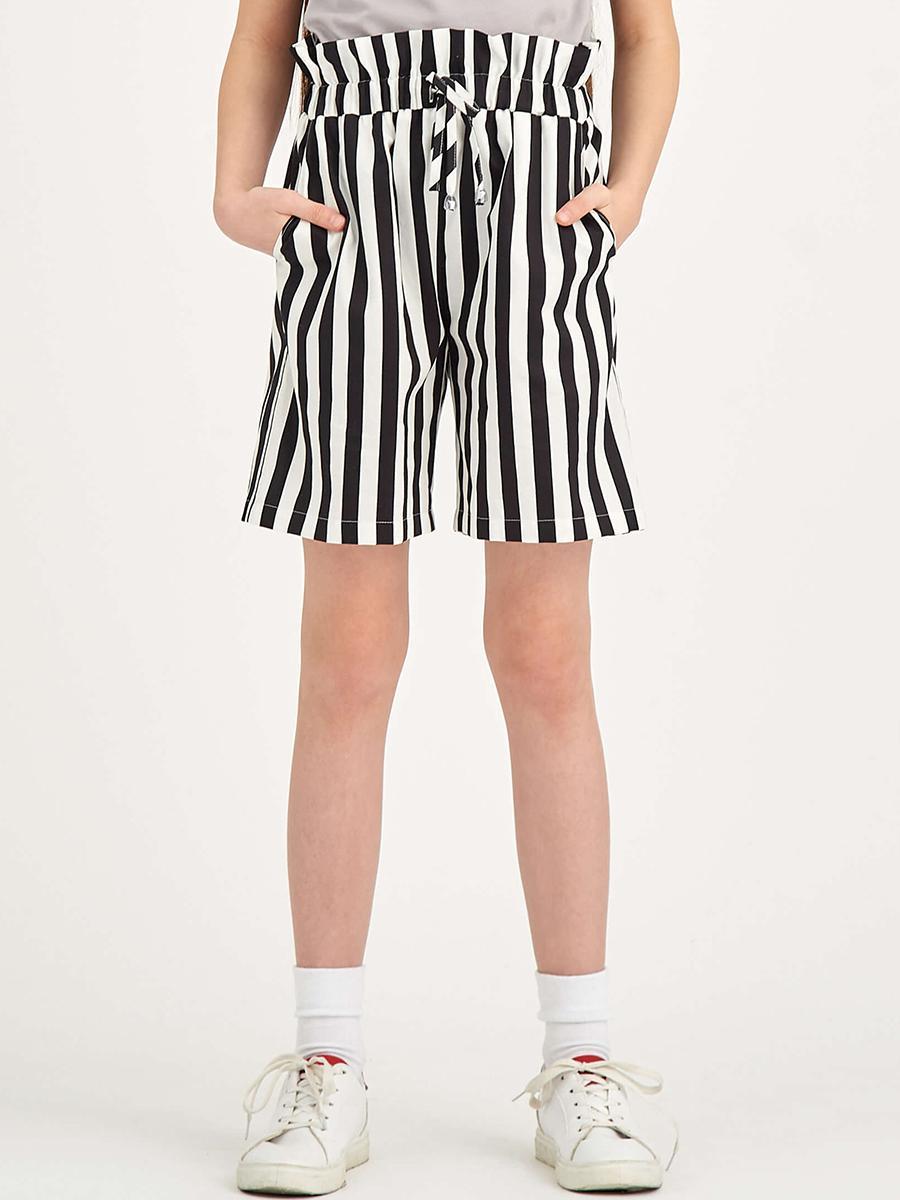 шорты смена для девочки, черные