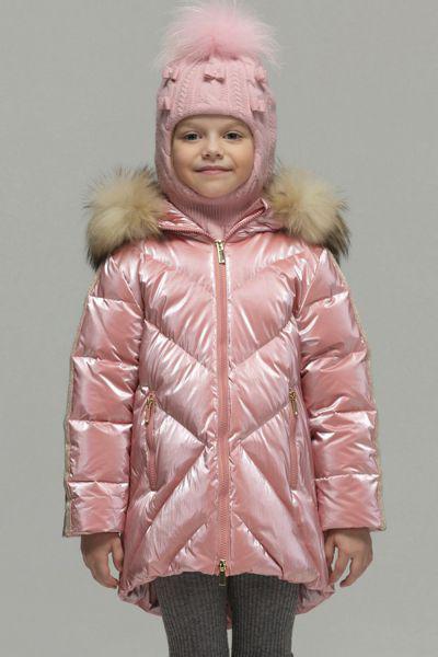 Купить Пальто, Noble People, Розовый, Нейлон-100%, Женский