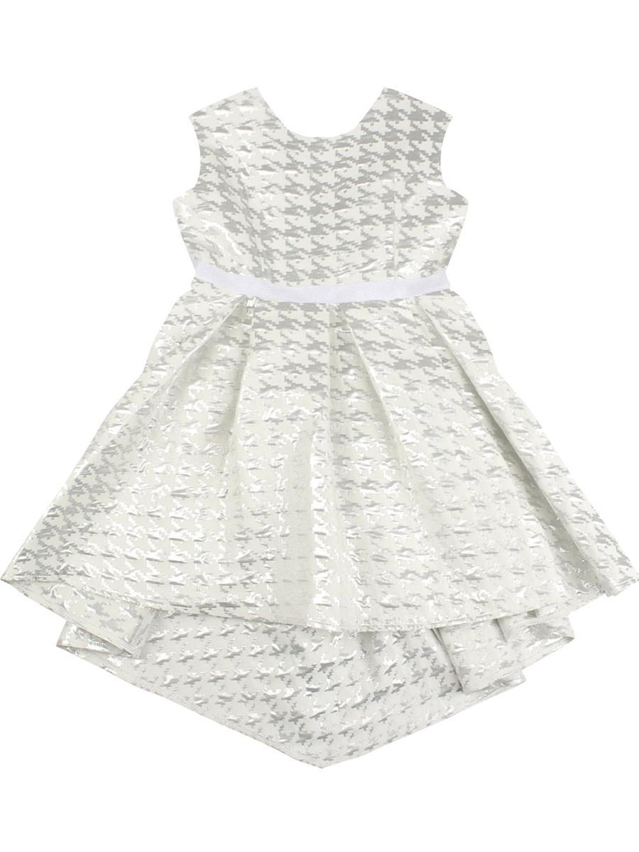 платье silver spoon для девочки, белое