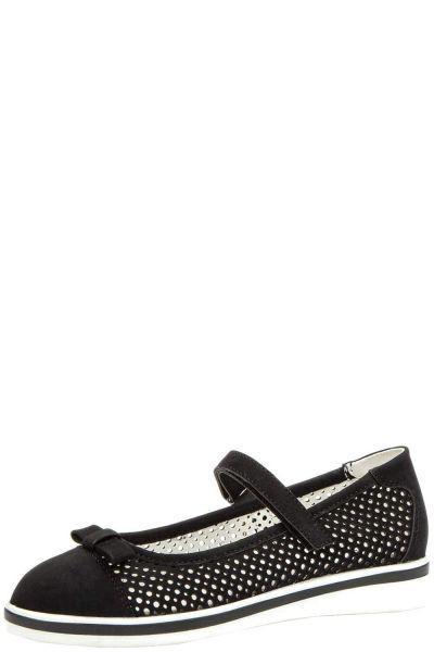 Туфли, Keddo, Черный, Искусственный нубук-100%, Женский  - купить со скидкой