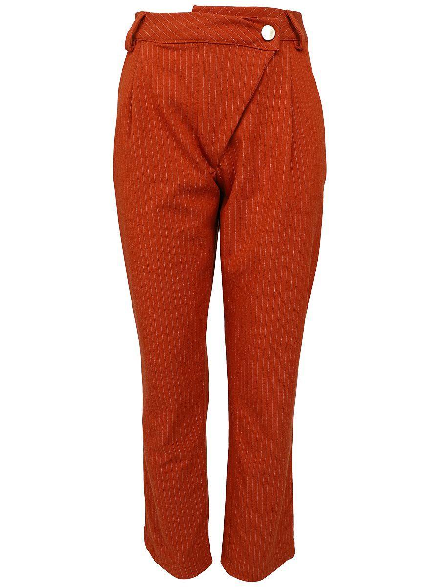 брюки y-clu' для девочки, оранжевые