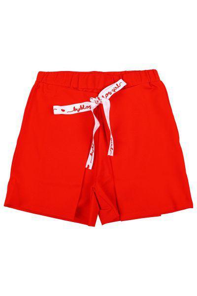 шорты byblos для девочки, красные
