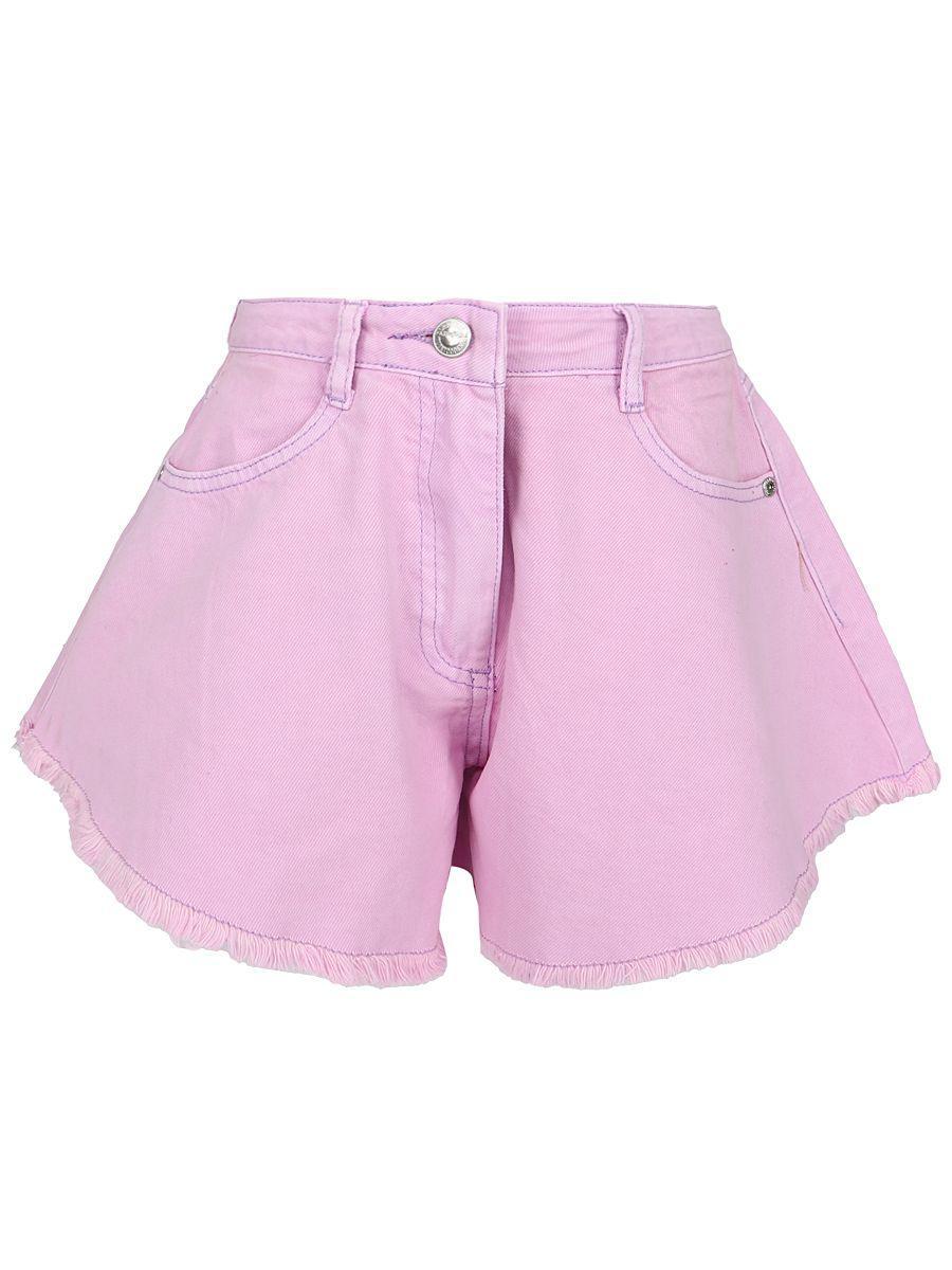 шорты to be too для девочки, фиолетовые