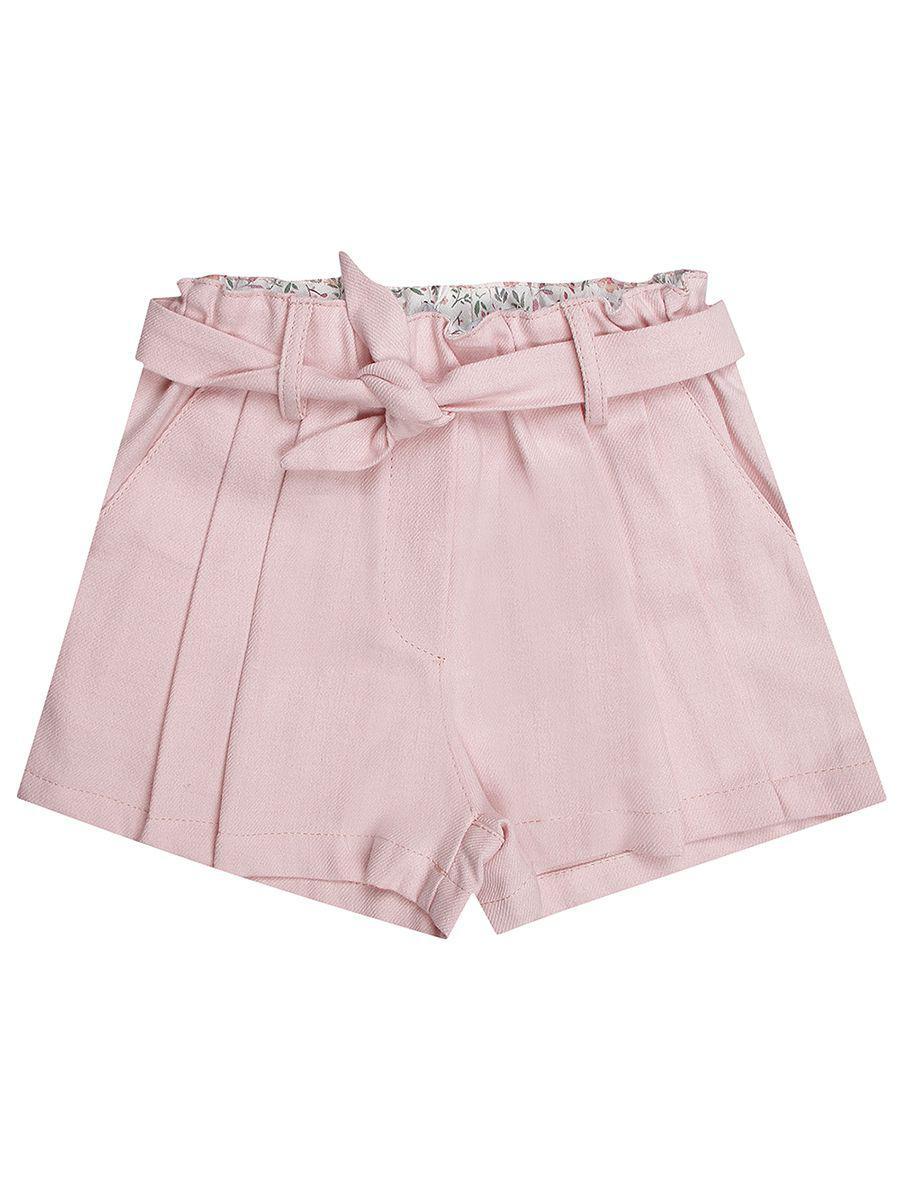 шорты y-clu' для девочки, розовые
