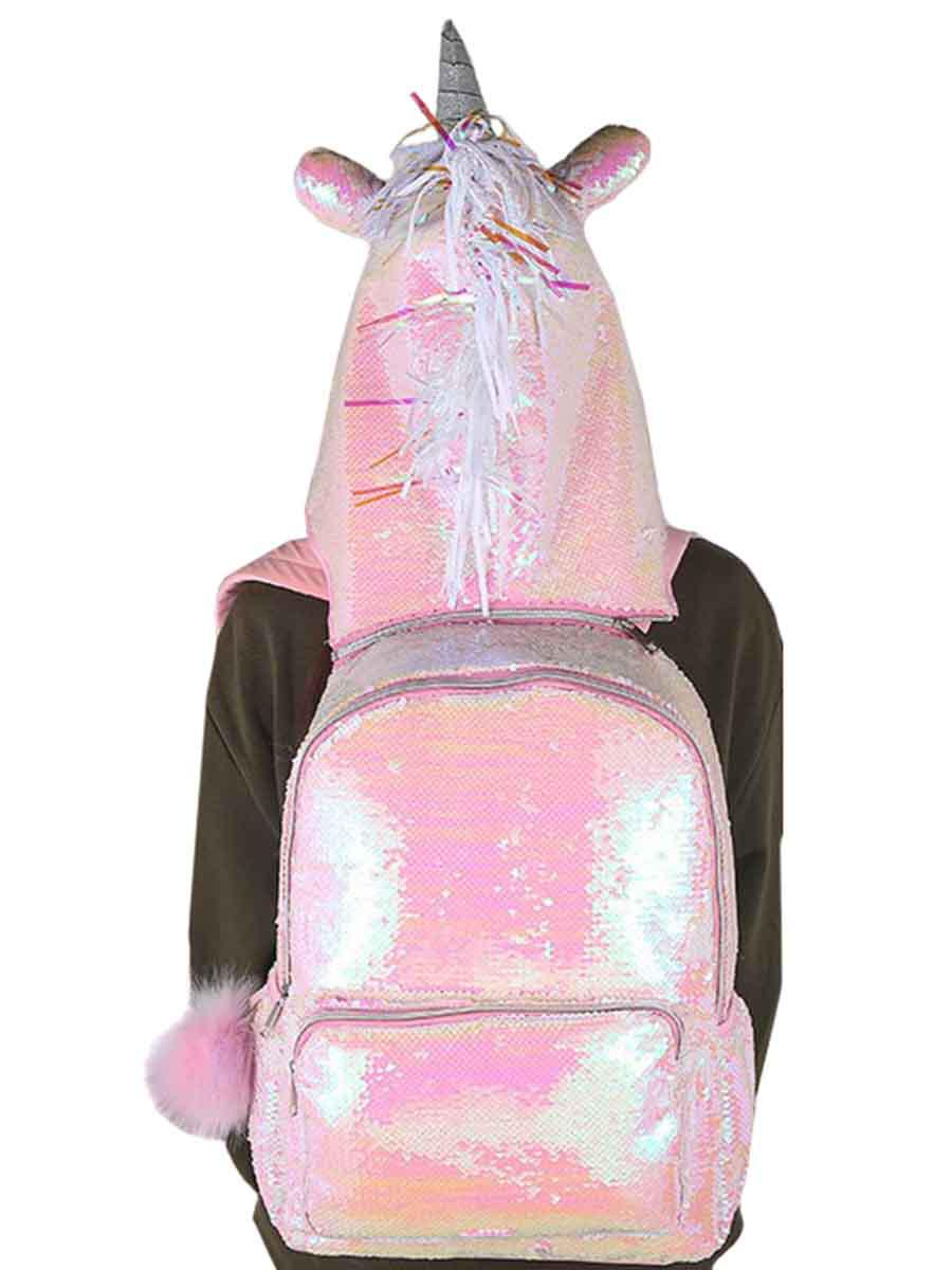 Рюкзак Multibrand розового цвета
