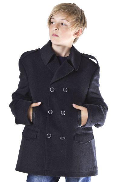 Купить Пальто, Noble People, Серый, Шерсть-100%, Мужской