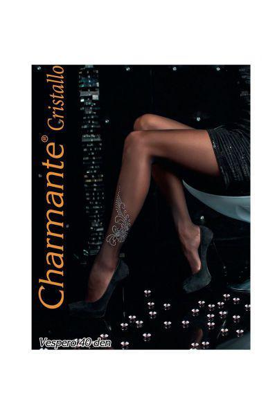 колготки charmante для девочки, черные