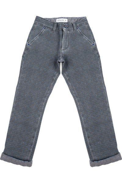 брюки manuel ritz для девочки, коричневые