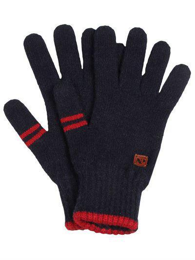 перчатки noble people для мальчика, синие