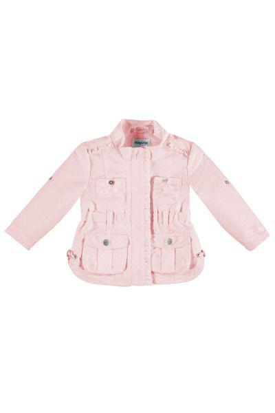 Купить Куртка, Mayoral, Розовый, Полиэстер-100%, Женский