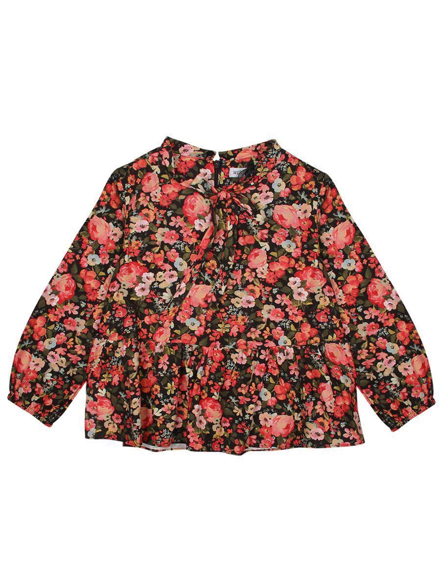 Купить Блуза, Meilisa Bai, Разноцветный, Вискоза-100%, Женский