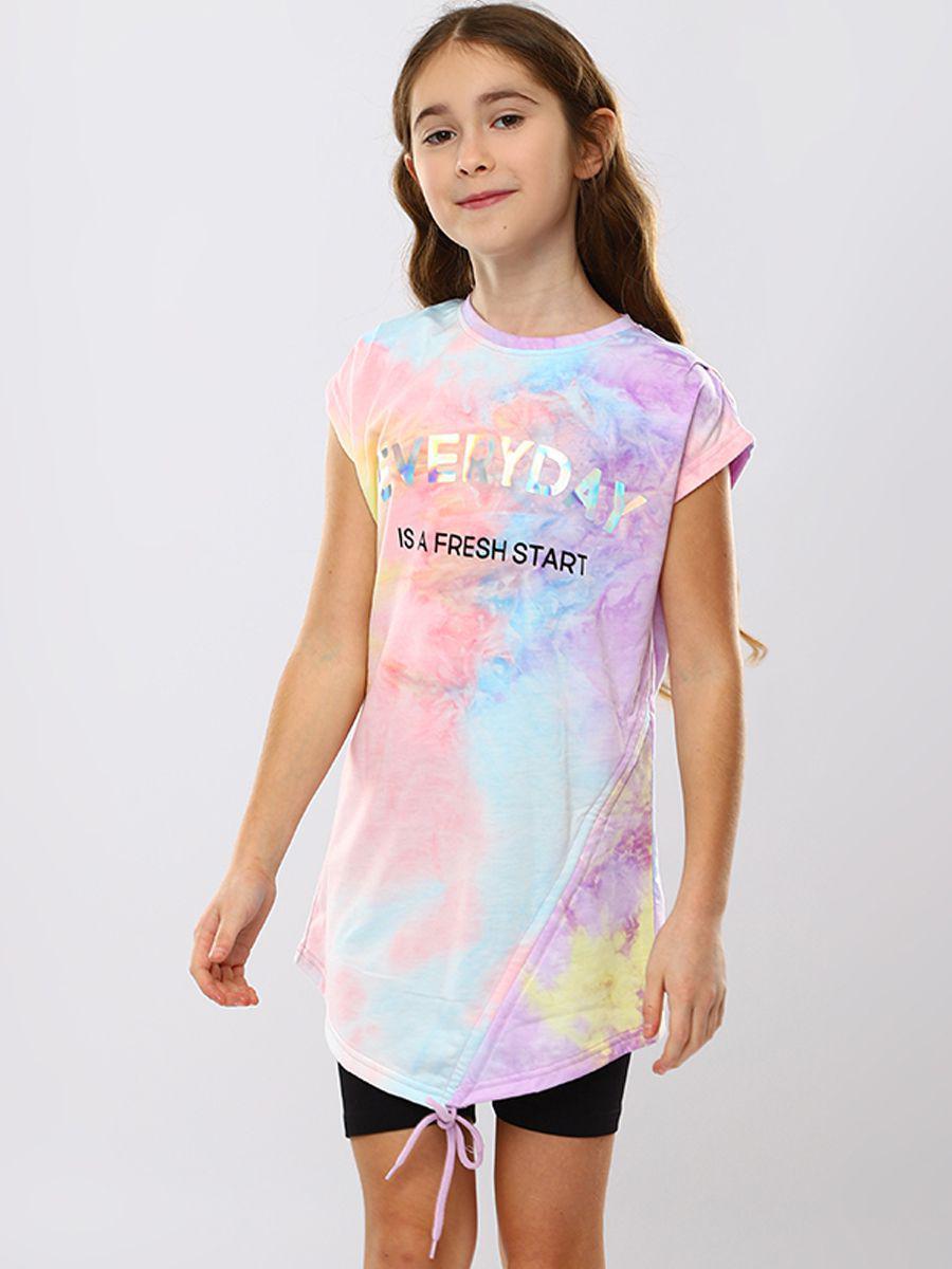 платье to be too для девочки, разноцветное