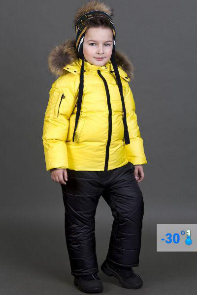 Купить Куртка+полукомбинезон, Les Trois Vallees, Желтый, Полиэстер-64%, Нейлон-36%, Мужской