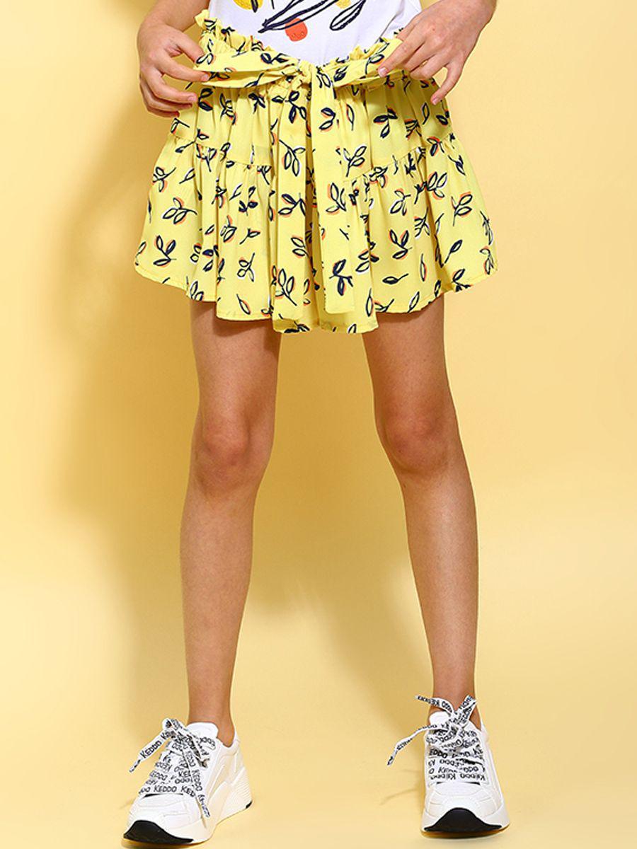 юбка y-clu' для девочки, желтая