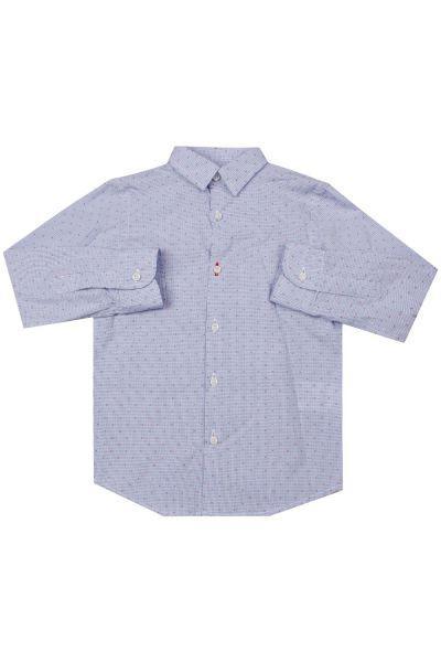 Купить Рубашка, Ronnie Kay, Голубой, Хлопок-100%, Мужской