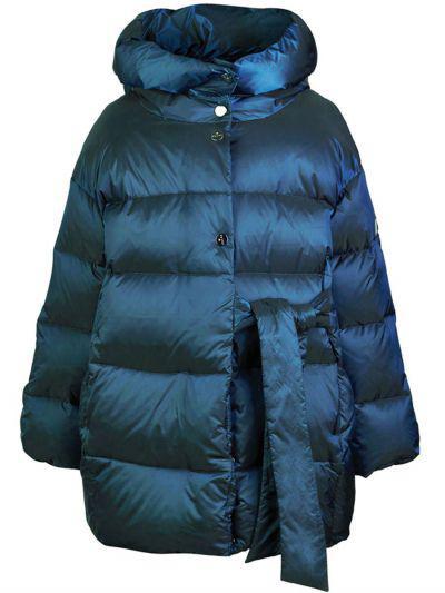 Купить Пальто, Pulka, Зеленый, Нейлон-100%, Женский