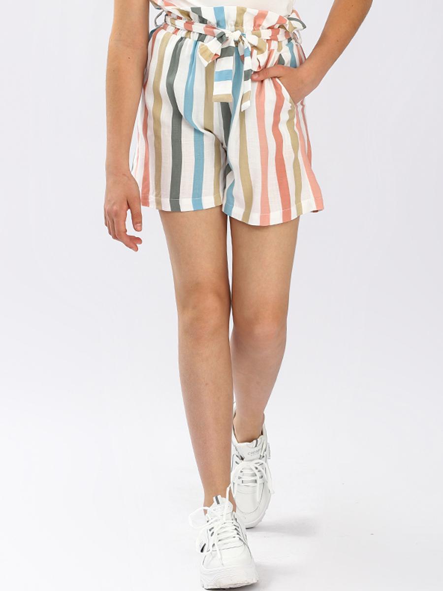 шорты noble people для девочки, разноцветные