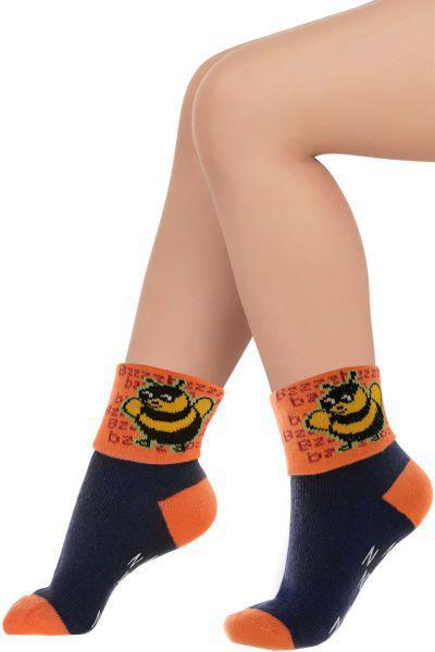 Носки для девочки SNK-1002 оранжевый Charmante, Китай (КНР)