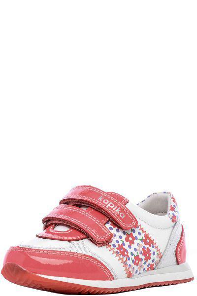 Кроссовки для девочки 22290-1 белый Kapika, Российская Федерация