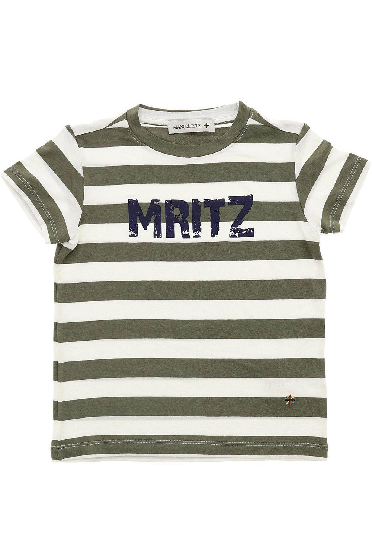 футболка manuel ritz для мальчика, зеленая