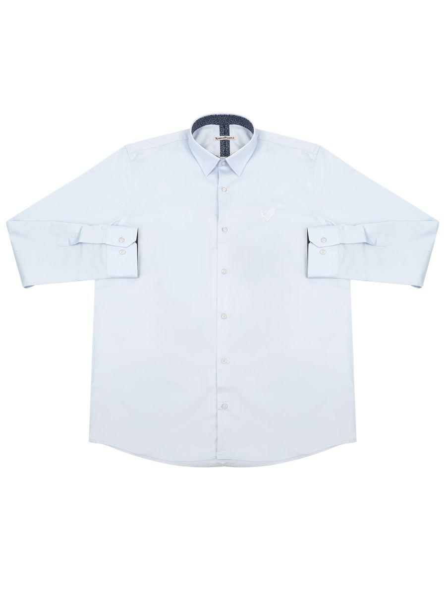 Рубашка Noble People голубого цвета
