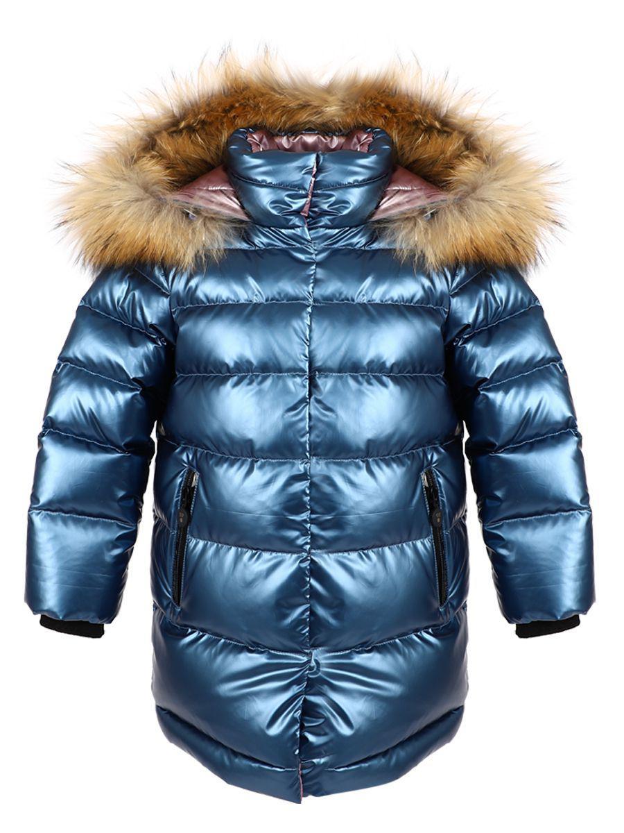 Купить Пальто, Noble People, Голубой, Полиэстер-100%, Женский