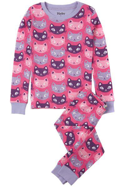 Купить Пижама, Hatley, Розовый, Хлопок-100%, Женский