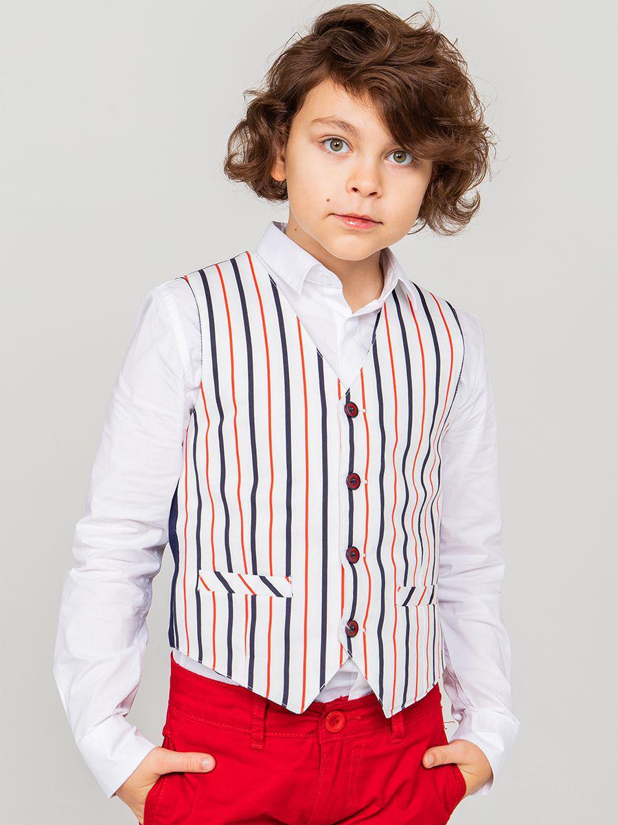 жилет y-clu' для мальчика, серый