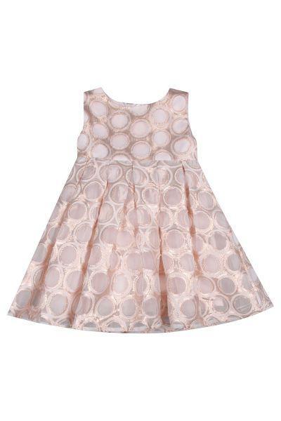 Купить Платье, Y-clu', Розовый, Хлопок-96%, Эластан-4%, Женский