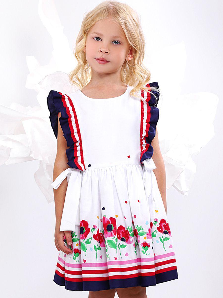 платье noble people для девочки, белое