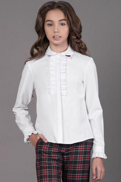 Купить Блуза, Noble People, Белый, Женский