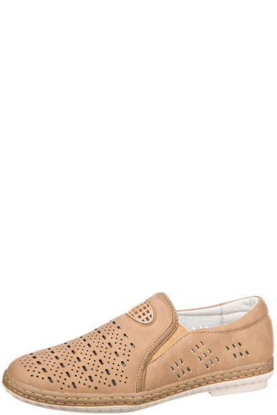 Туфли для мальчика 157601/01-03 бежевый Tesoro