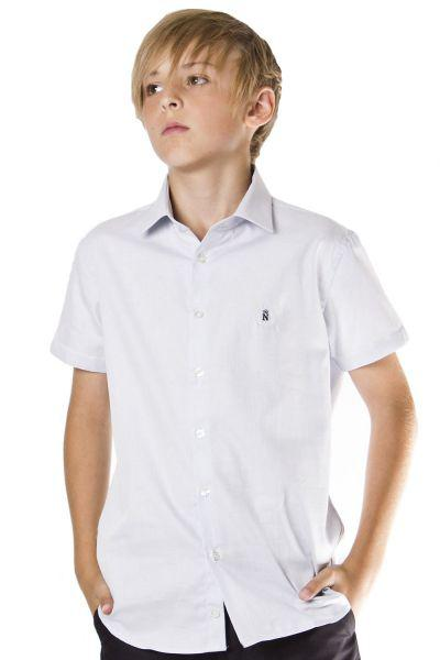 Купить Рубашка, Noble People, Голубой, Хлопок-100%, Мужской