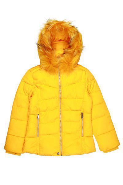 Купить Куртка, To Be Too, Желтый, Полиэстер-100%, Женский