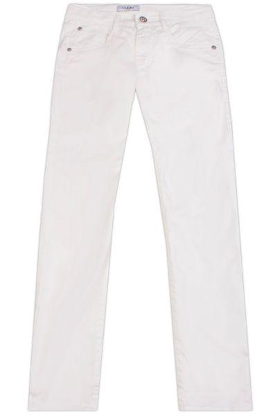брюки byblos для девочки, белые