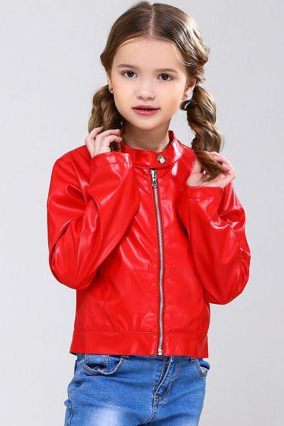 Купить Куртка, Meilisa Bai, Красный, Полиэстер-57%, Полиуретан-43%, Женский