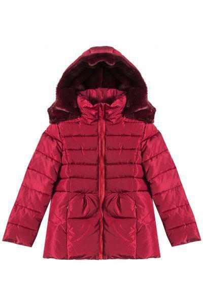Купить Куртка, Y-clu', Красный, Полиэстер-100%, Женский