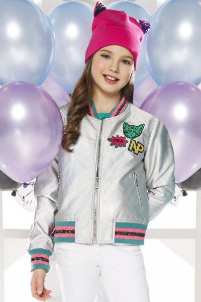 Купить Куртка, Noble People, Серый, Полиуретан-100%, Женский