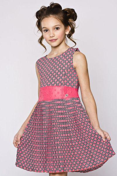 Платье для девочки BJ7615 разноцветный Byblos, Китай (КНР)