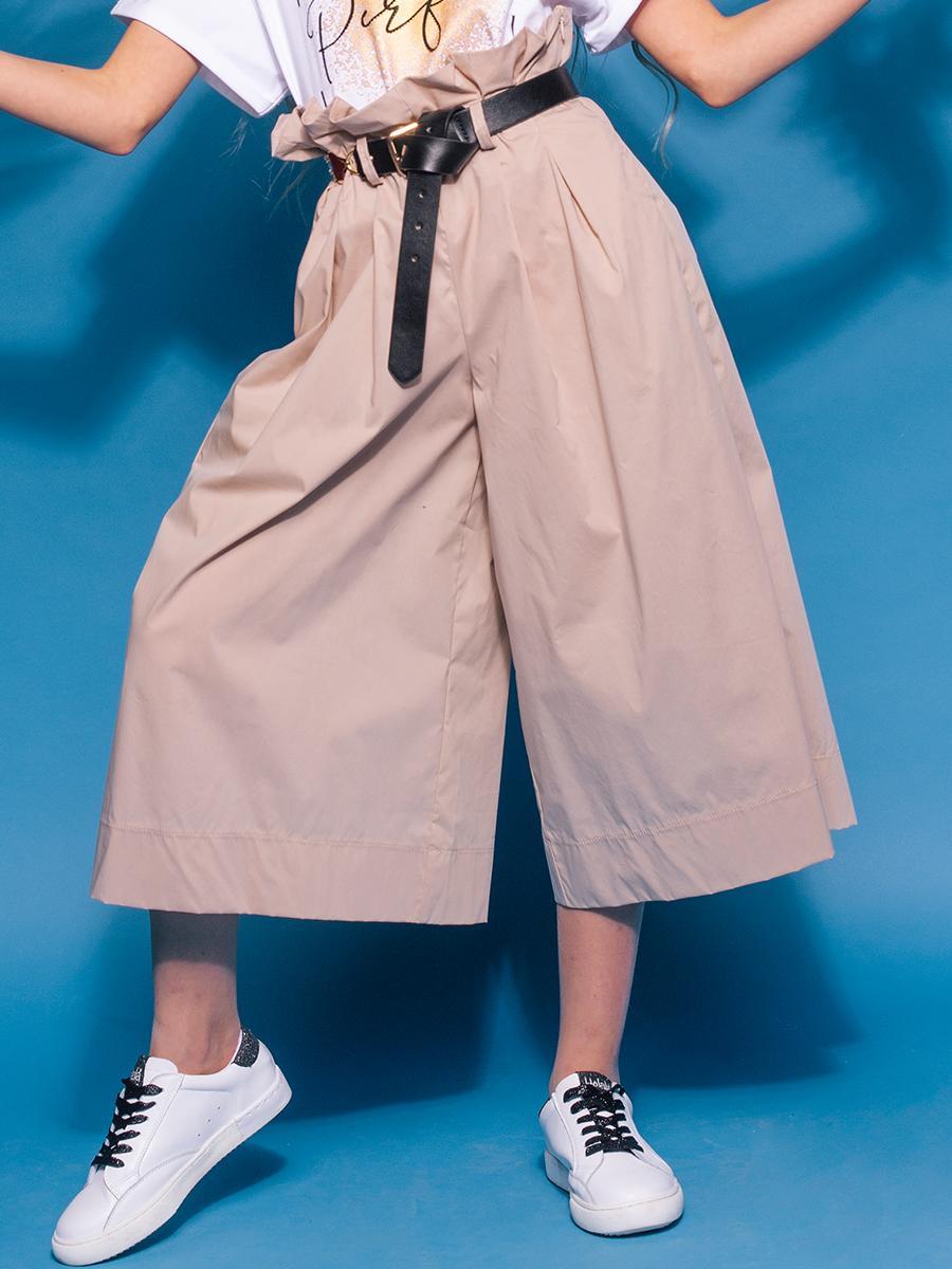 брюки to be too для девочки, бежевые