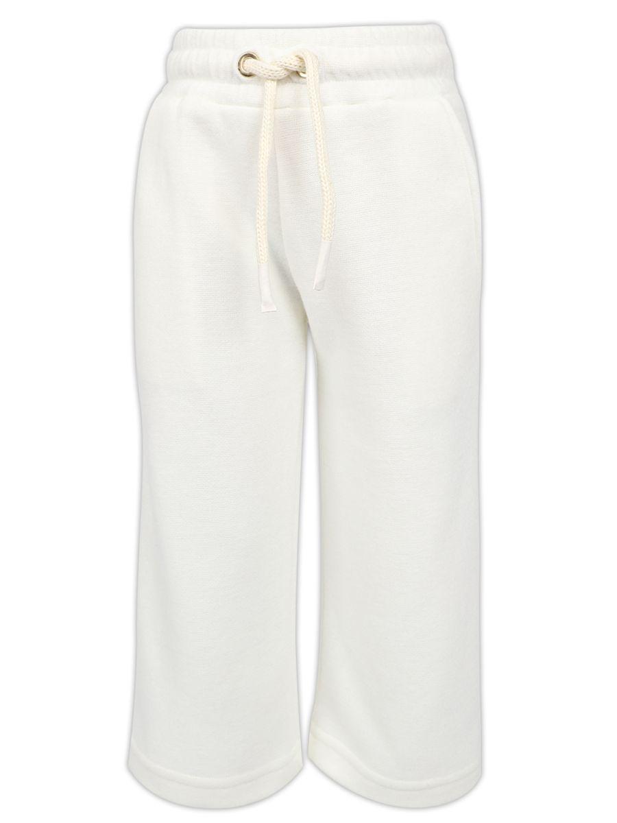 брюки y-clu' для девочки, белые