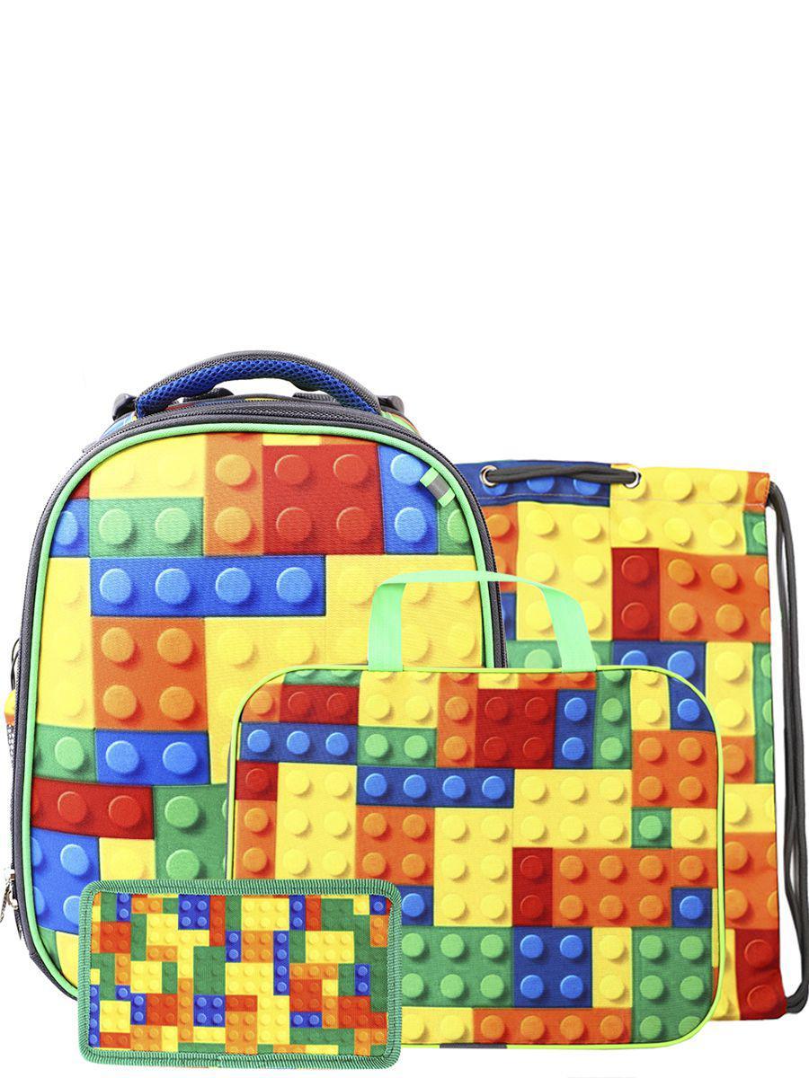 Ранец BagRio разноцветного цвета