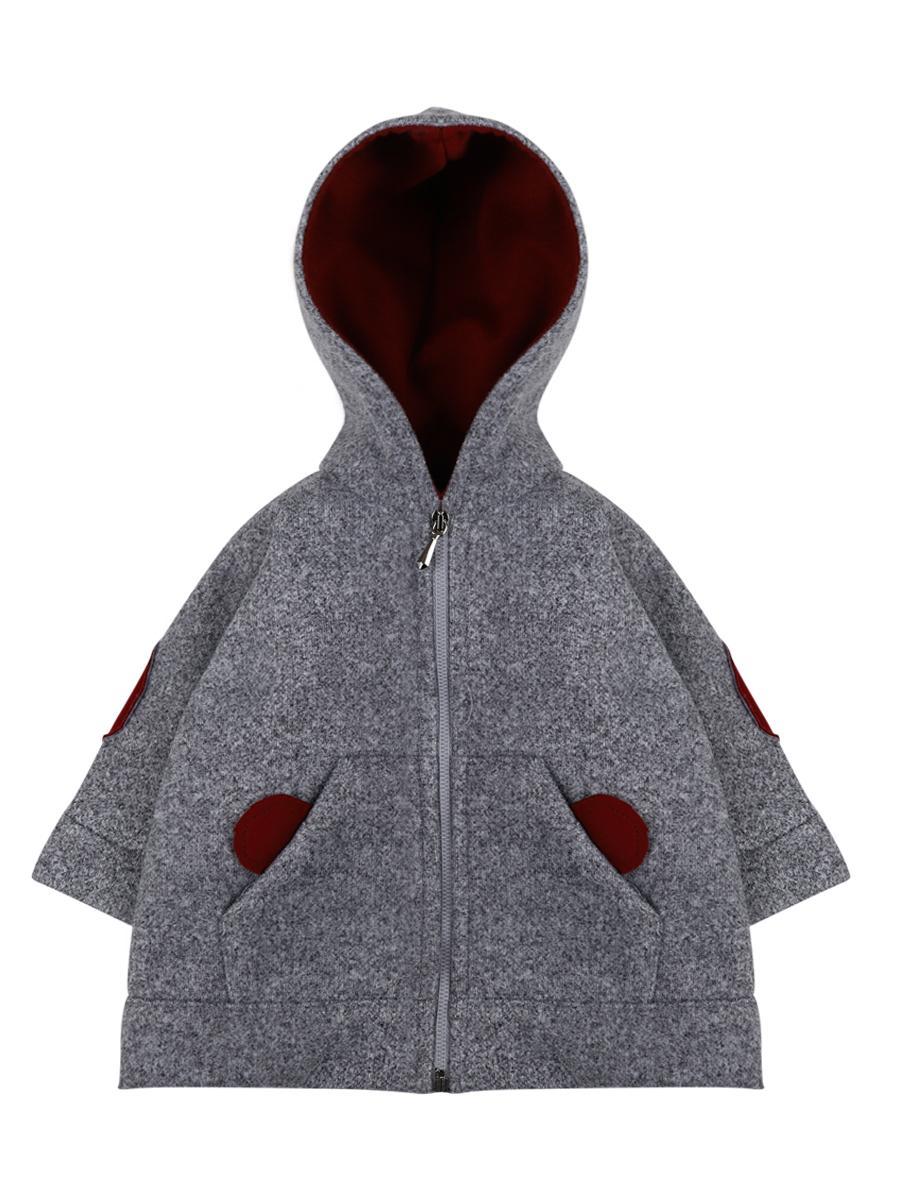 пальто y-clu' для мальчика, серое