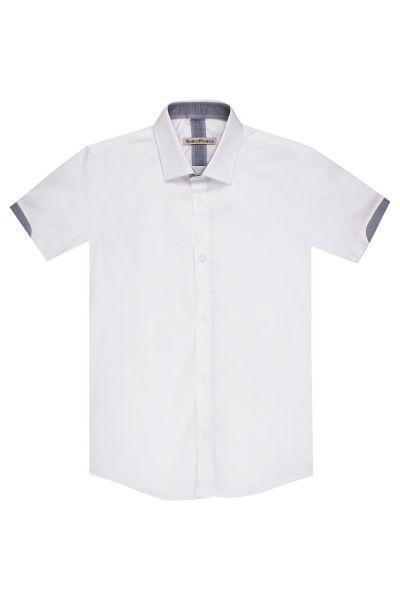 Купить Рубашка, Noble People, Белый, Хлопок-100%, Мужской