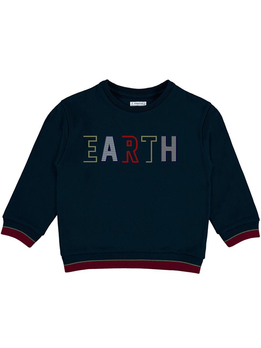 пуловер mayoral для мальчика, синий