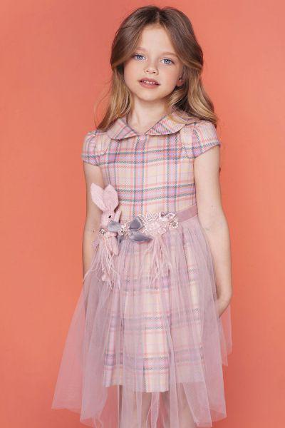 Купить Платье, Noble People, Розовый, Шерсть-100%, Женский