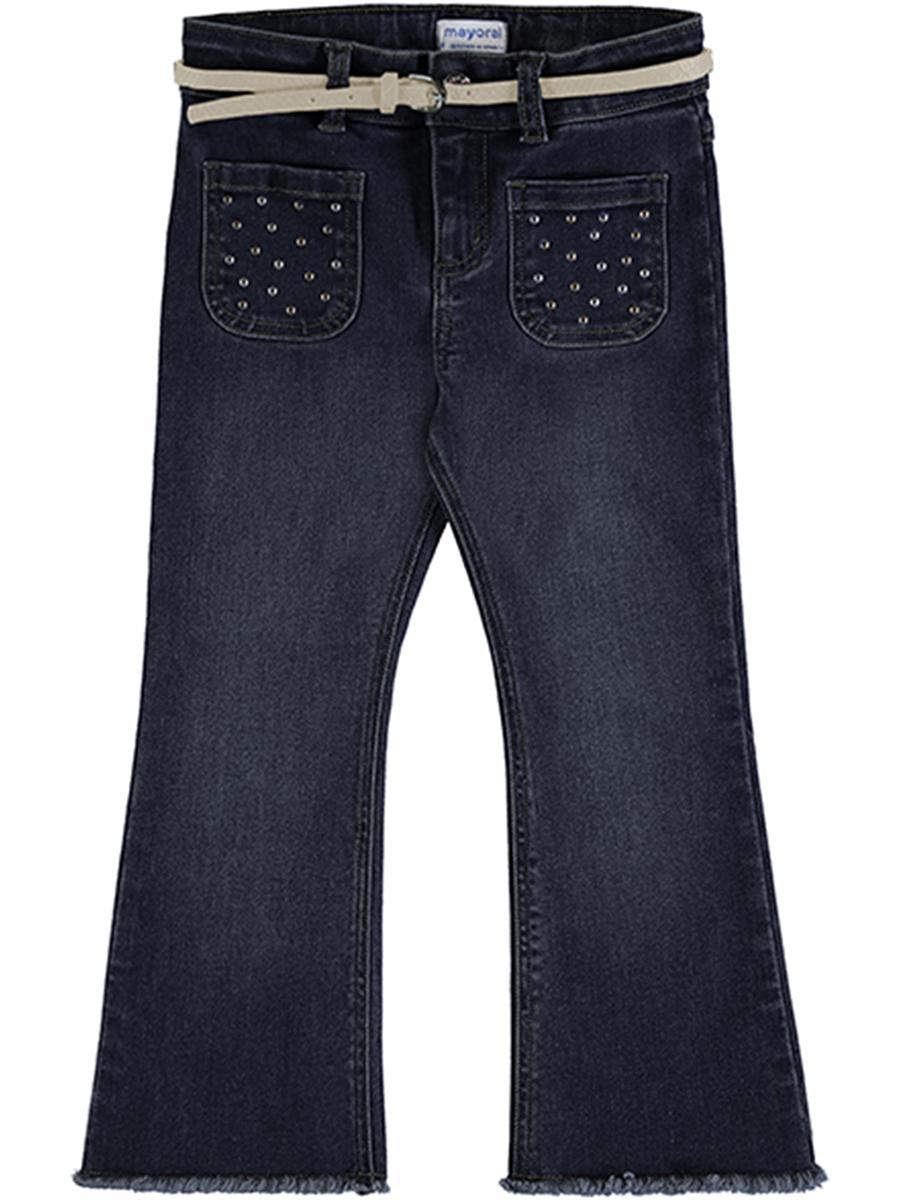 джинсы mayoral для девочки, синие