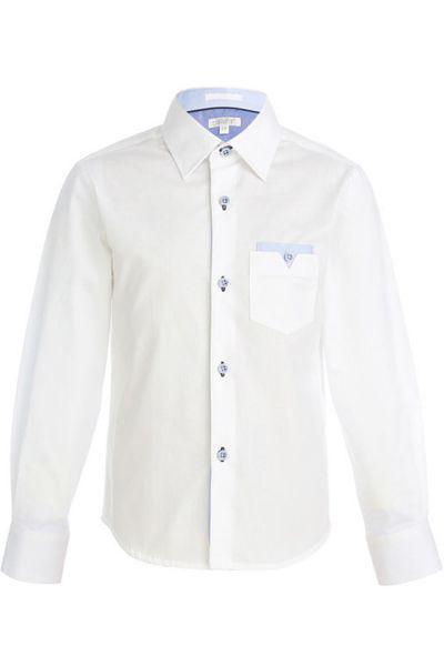 Купить Сорочка, Cleverly, Белый, Хлопок-100%, Мужской