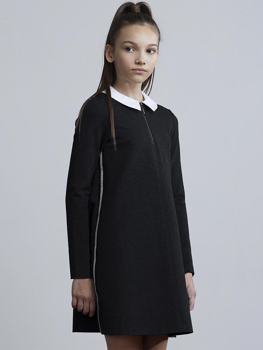 платье silver spoon для девочки, черное